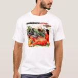 Zundapp Vintage Motorcycle Sidecar Ad Art T-Shirt