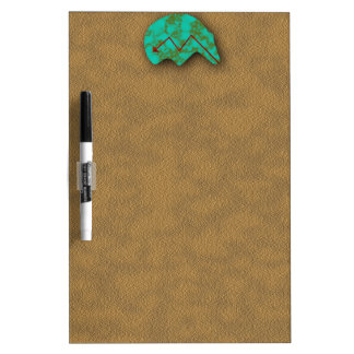 Zuni Native American Bear Icon Dry-Erase Board