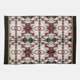 Zuni Pottery Design Hand Towels