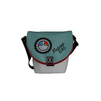Zuni Sunface Medicine Bag