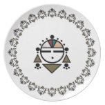 Zuni Sunface Plates