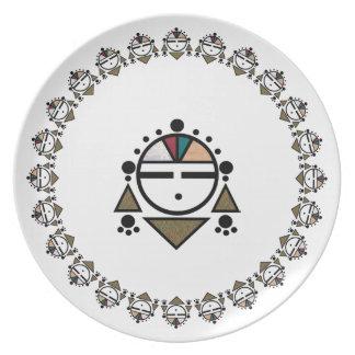 Zuni Sunface Platos De Comidas