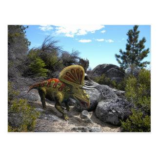 Zuniceratops Dinosaur Postcard