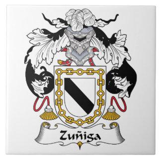 Zuniga Family Crest Ceramic Tile