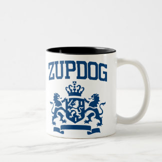 Zupdog? What's Zupdog?  Exactly. Two-Tone Coffee Mug