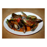 Zuppa di Mussels Large Business Cards (Pack Of 100)