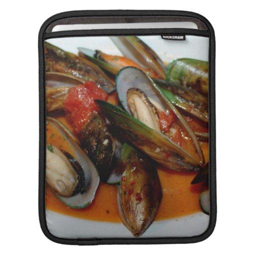 Zuppa di Mussels iPad Sleeve