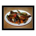 Zuppa di Mussels Postcard