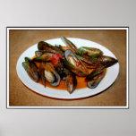 Zuppa di Mussels Posters