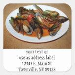 Zuppa di Mussels Stickers