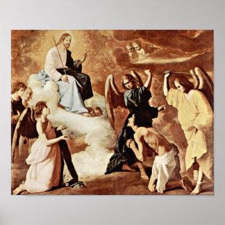 Zurbaran de Francisco - Flagellation of StJerome Posters