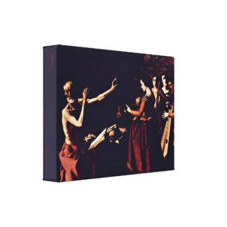 Zurbaran de Francisco - Temptation of StJerome Stretched Canvas Prints