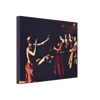 Zurbaran de Francisco - Temptation of StJerome Canvas Prints