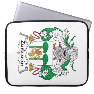 Zurbaran Family Crest Laptop Sleeve