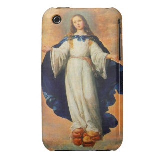 Zurbaran's Immaculate Conception Blackberry Curve  iPhone 3 Cover
