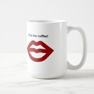 """Zurdo """"beso taza del café"""""""