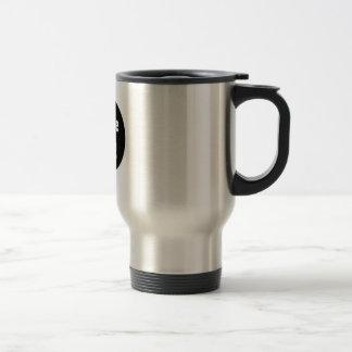 zurdos taza de viaje de acero inoxidable