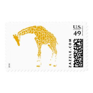 Zuri Gold Giraffe A by Ceci New York Stamps