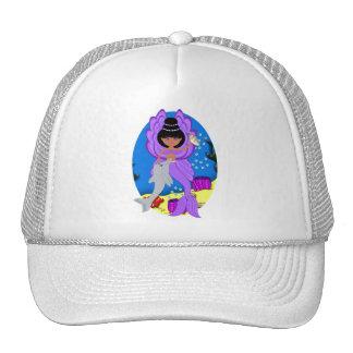 Zuri the Purple Merfaery and Dolphin Hat