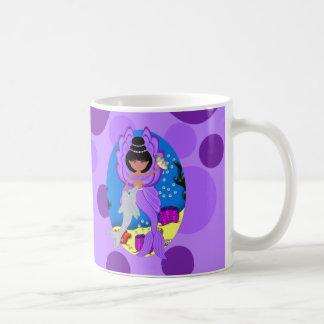 Zuri the Purple Merfaery and Dolphin Mug