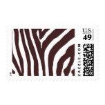 Zuri Zebra Stripes A by Ceci New York Postage Stamp