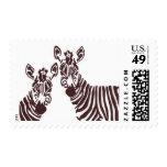 Zuri Zebras A by Ceci New York Postage