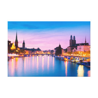 Zurich 003A Canvas Print