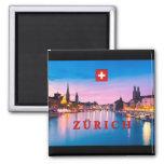 Zurich 003D Imanes De Nevera