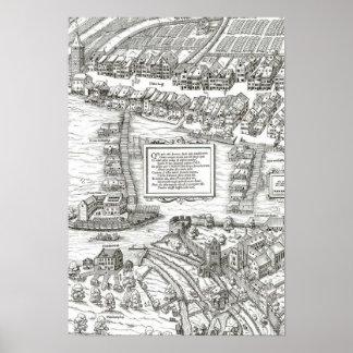 Zürich - 1576 Josua Murer, 1576 Poster