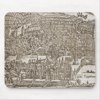 Zurich, 16th century map mouse pads
