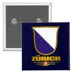 Zurich 2 Inch Square Button