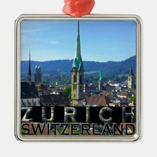 Zurich Metal Ornament