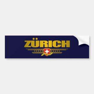 Zurich Pegatina Para Auto