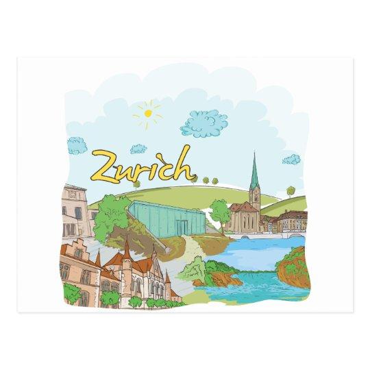 Zurich Postcard