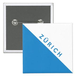 Zurich province Switzerland swiss flag region Buttons