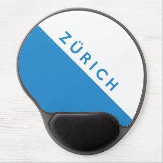 Zurich province Switzerland swiss flag region Gel Mouse Mat