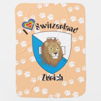 Zürich Schweiz Switzerland Babydecke