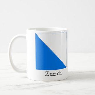 Zurich, Suisse Drapeau Flags Classic White Coffee Mug