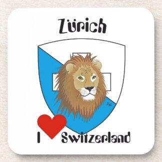 Zurich Suiza posavasos de corcho