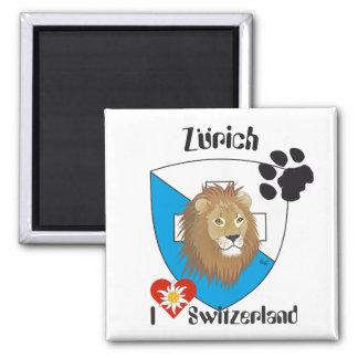 Zurich Suiza Suisse Svizzera imán