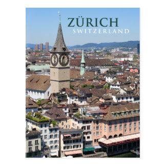 Zurich Suiza Tarjetas Postales