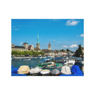 Zurich, Switzerland Canvas Print