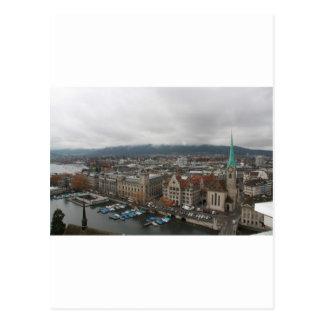Zurich Switzerland Postcards