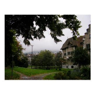Zurich Switzerland Post Card