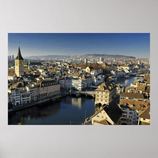 Zurich, Switzerland Poster