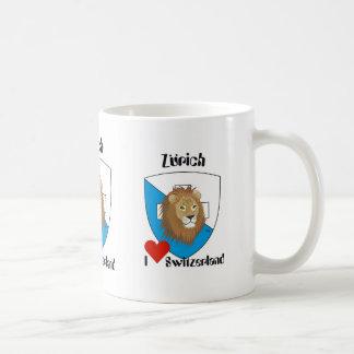 Zurich Switzerland Suisse Svizzera cup Classic White Coffee Mug