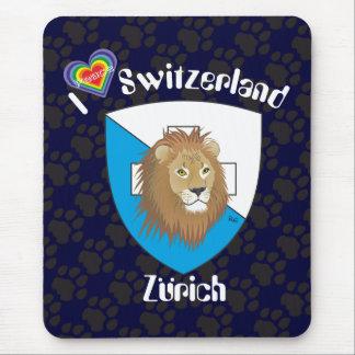 Zurich Switzerland Suisse Svizzera Svizra Mousepad