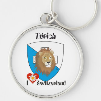 Zurich Switzerland Switzerland key supporter Keychain