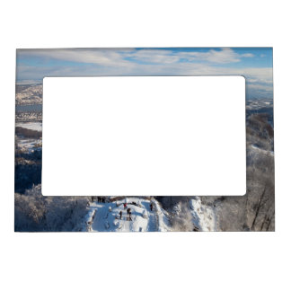 Zurich Switzerland Winter Magnetic Frame