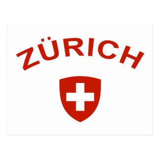 Zurich Tarjetas Postales